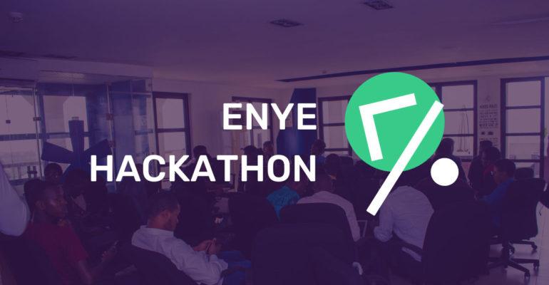 Register for Enye Hackathon 2020