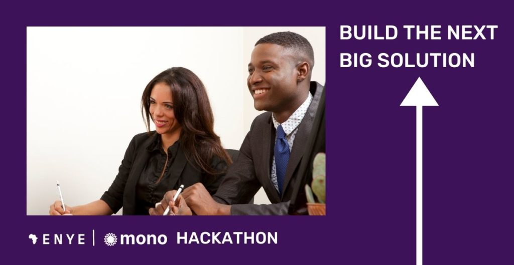 Enye Hackathon 2020 new date announced. financial data for financial services